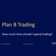 How much time should I spend trading?